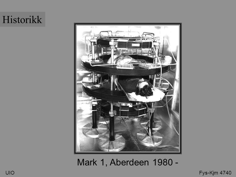 UIO Fys-Kjm 4740 Historikk Mark 1, Aberdeen 1980 -