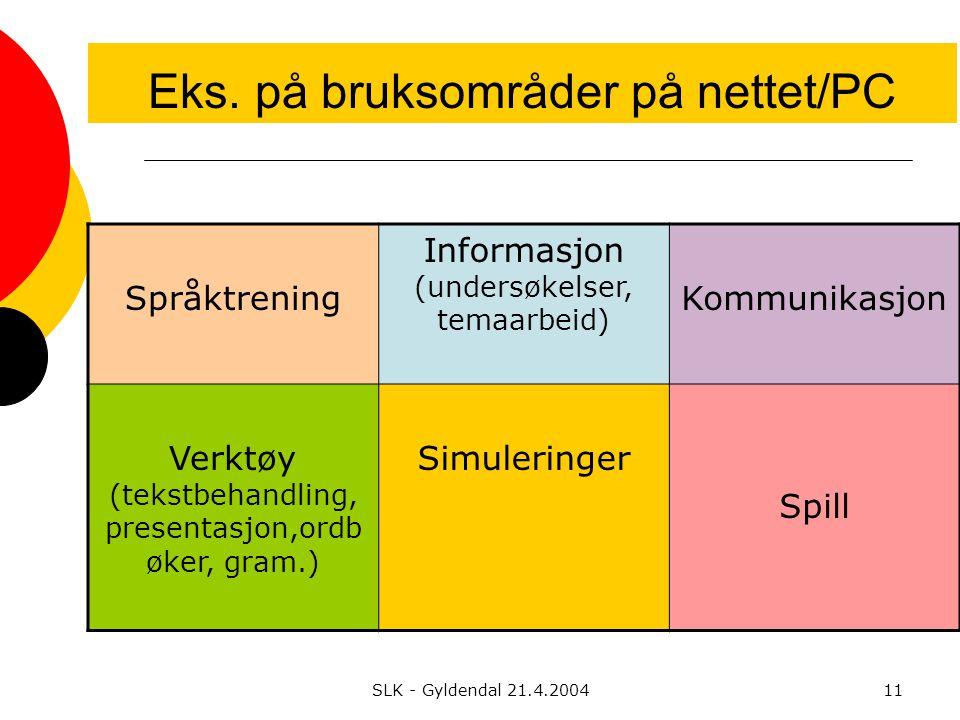 SLK - Gyldendal 21.4.200411 Eks.