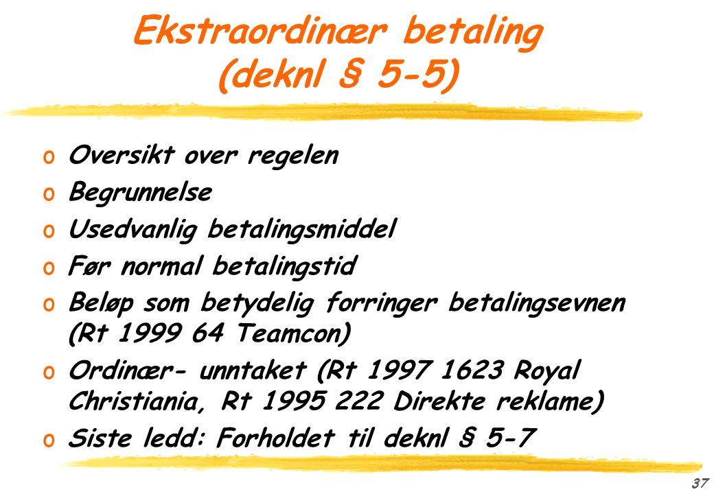 """36 Gaver (deknl § 5-2) oOversikt over regelen oBegrunnelse oHva er en gave? (Rt 1996 1647 Bruvik) o""""Fullbyrdet,"""" jfr deknl § 5-10"""