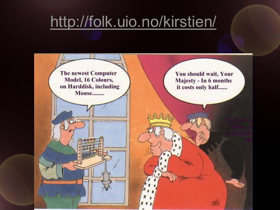 Kirsti L. Engelien ILS, UiO http://folk.uio.no/kirstien/