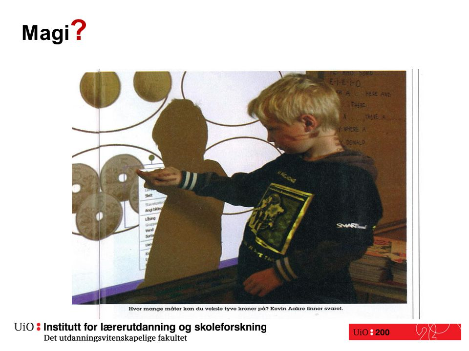ForskningForskning: The Visual Helps Me Understand the Complicated Things. Their findings have shown that the majority (62%) of their teachers have stated that SMARTBoard access has allowed them to differentiate instruction. The pupils describe how different elements of software and hardware can motivate, aid concentration, and keep their attention. Frances Newsom-Langs blogg