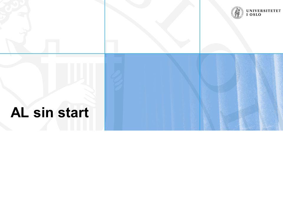 AL sin start