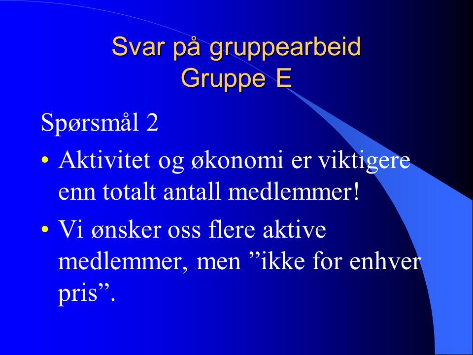 Svar på gruppearbeid Gruppe E Spørsmål 3 De som slutter er gjerne de som ikke kommer seg videre med flygingen etter sertifikat.