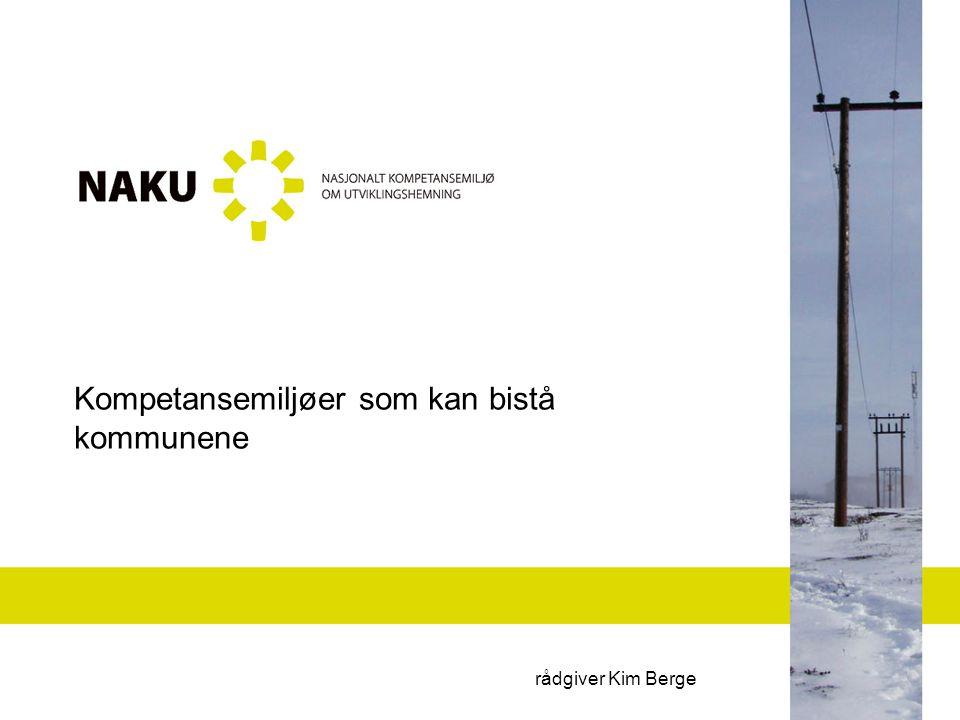Vi skal se på Hva er NAKU Utfordringer med at kunnskapen er på ulike steder Kunnskapsbanken