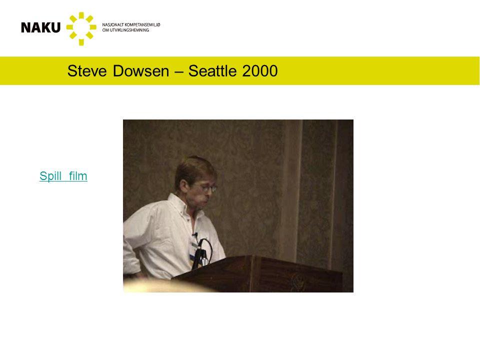 Steve Dowsen – Seattle 2000 Spill film