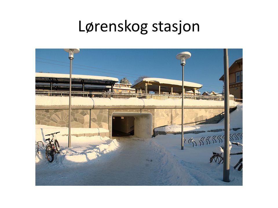 Lørenskog stasjon