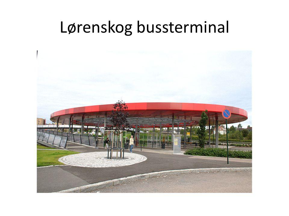 Lørenskog bussterminal