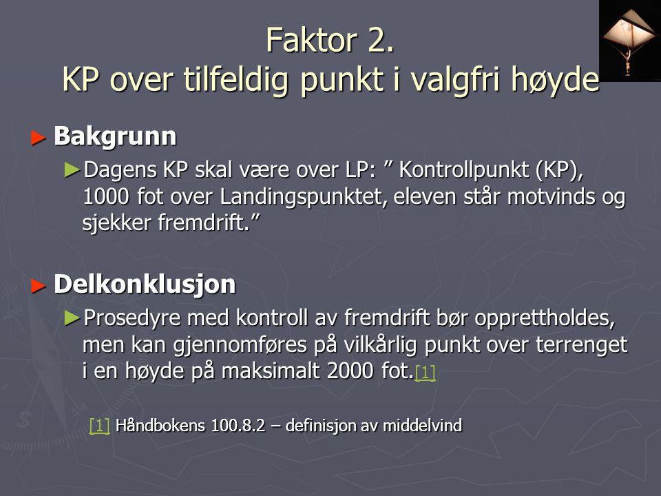 Faktor 2.