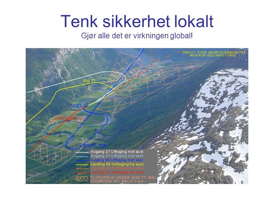 Tenk sikkerhet lokalt Gjør alle det er virkningen global!