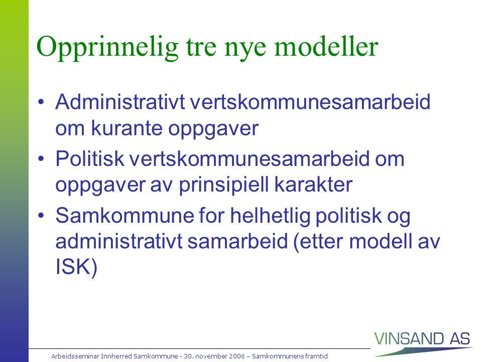 Arbeidsseminar Innherred Samkommune - 30.