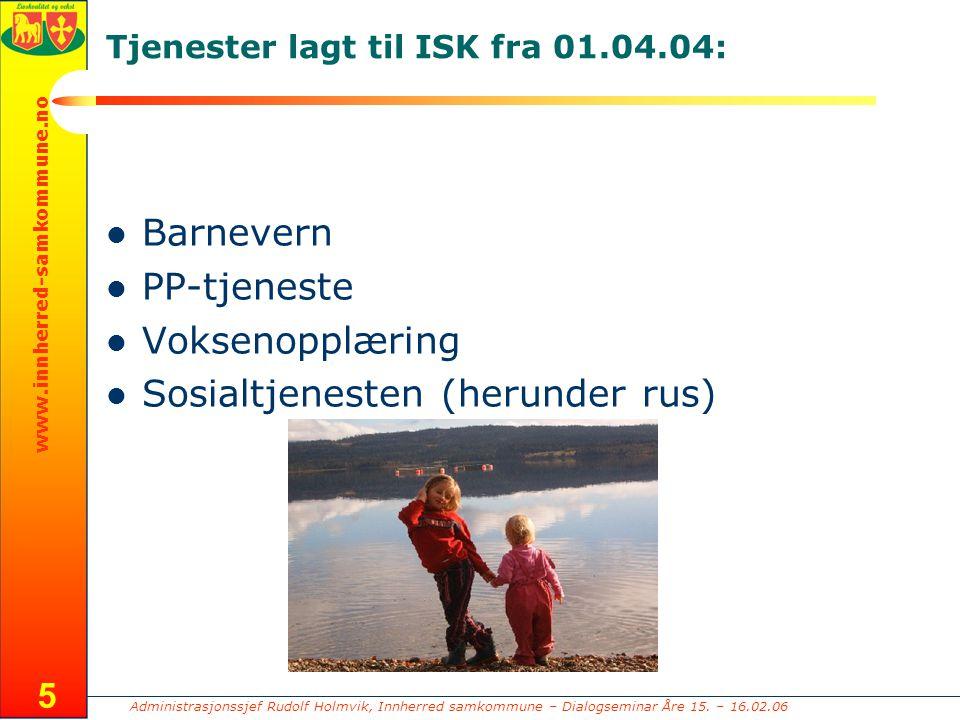 Administrasjonssjef Rudolf Holmvik, Innherred samkommune – Dialogseminar Åre 15.