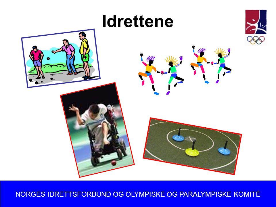 Idrettene NORGES IDRETTSFORBUND OG OLYMPISKE OG PARALYMPISKE KOMITÉ