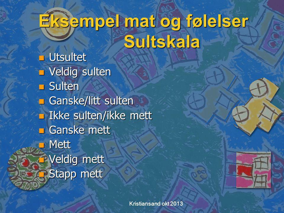 Self-efficacy Kristiansand okt 2013