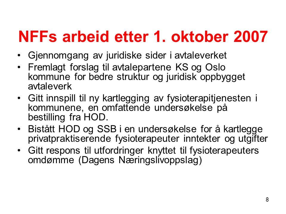 NFFs arbeid etter 1.