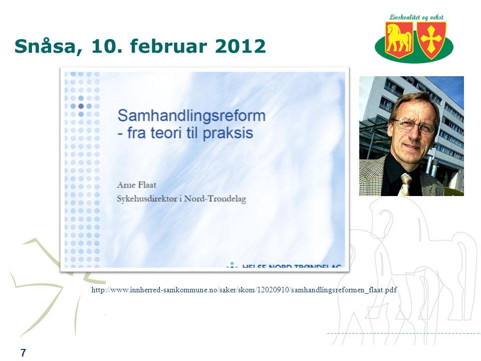 Søknaden om ISK 3 Samkommunestyret 12.5.09 Levanger kommunestyre 20.5.09 Verdal kommunestyre 25.5.09 Søknaden ble innvilget med ny forskrift 17.12.09 og fornyet ut 2012 20.12.2011.