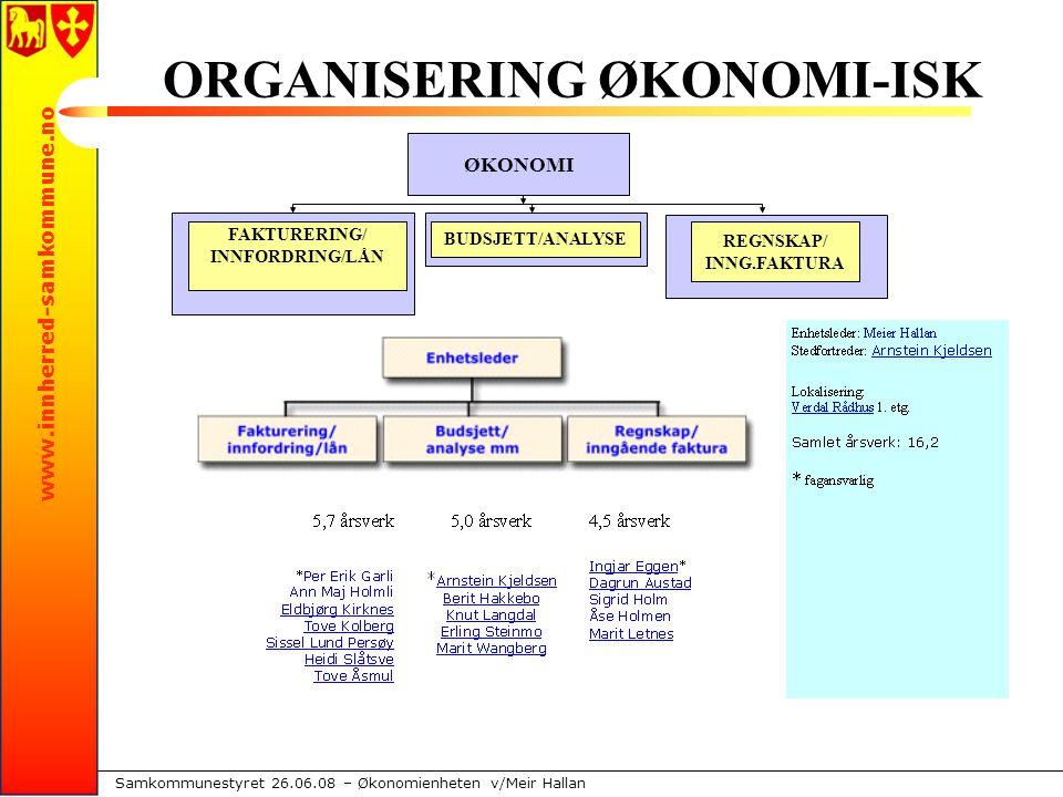 www.innherred-samkommune.no Samkommunestyret 26.06.08 – Økonomienheten v/Meir Hallan