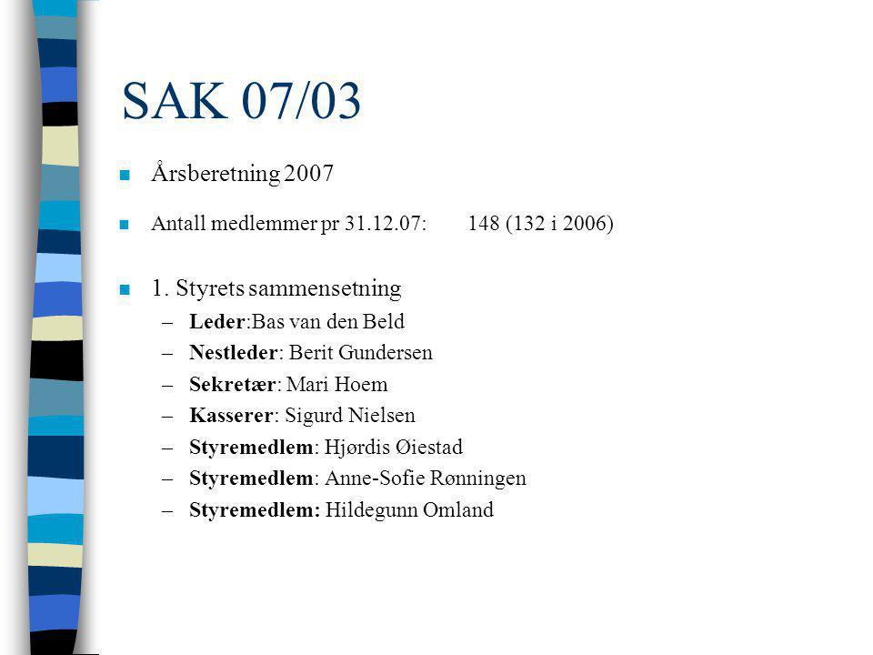 SAK 07/02 n Godkjenning av innkalling og saksliste.