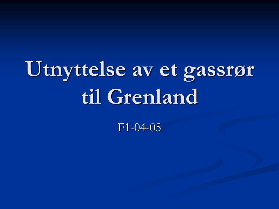Utnyttelse av et gassrør til Grenland F1-04-05