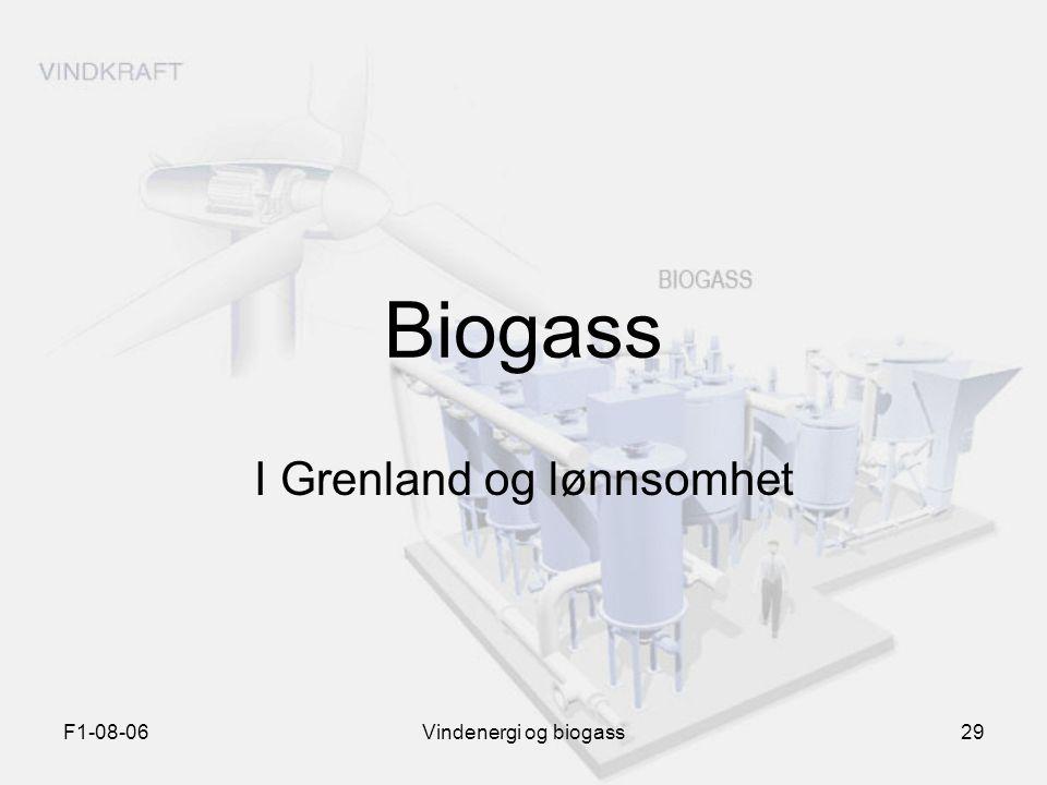F1-08-06Vindenergi og biogass29 Biogass I Grenland og lønnsomhet