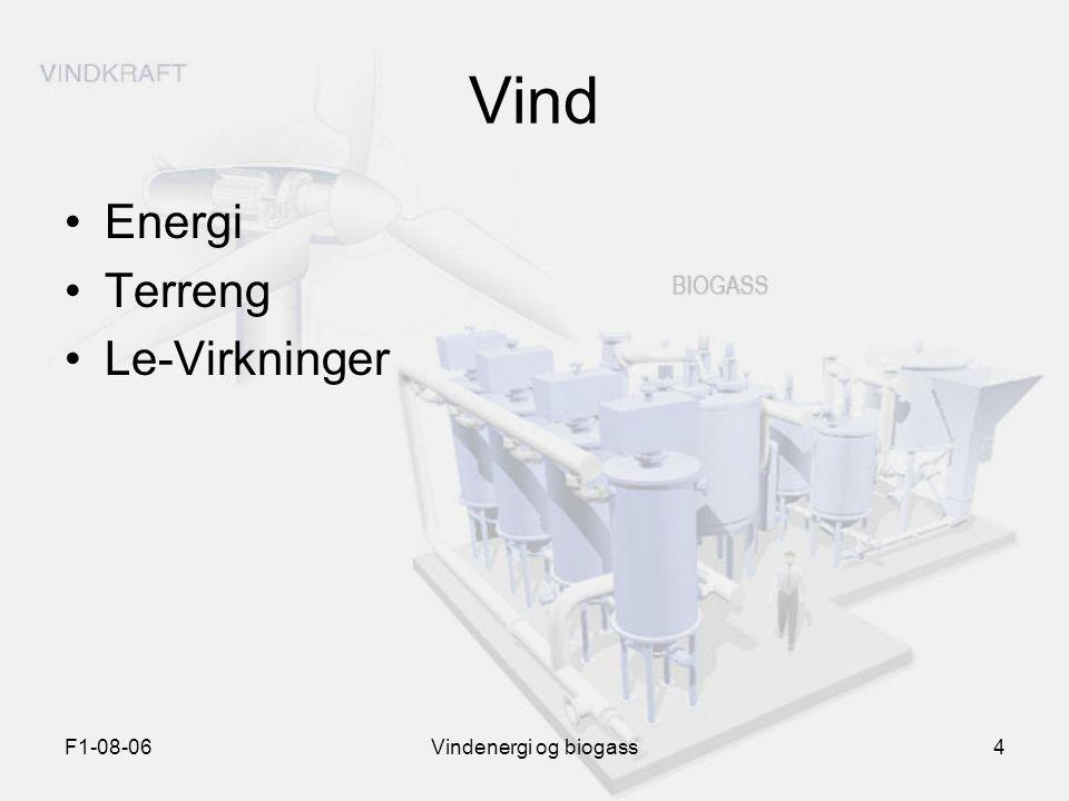 F1-08-06Vindenergi og biogass4 Vind Energi Terreng Le-Virkninger