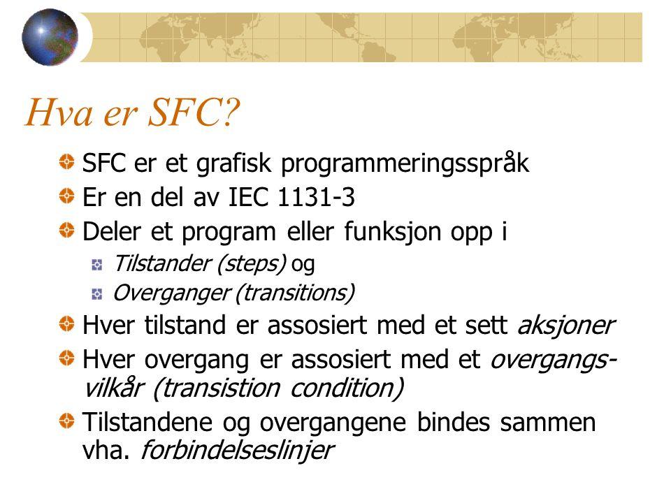 Hva er SFC.