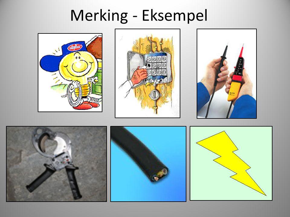 Merking - Eksempel