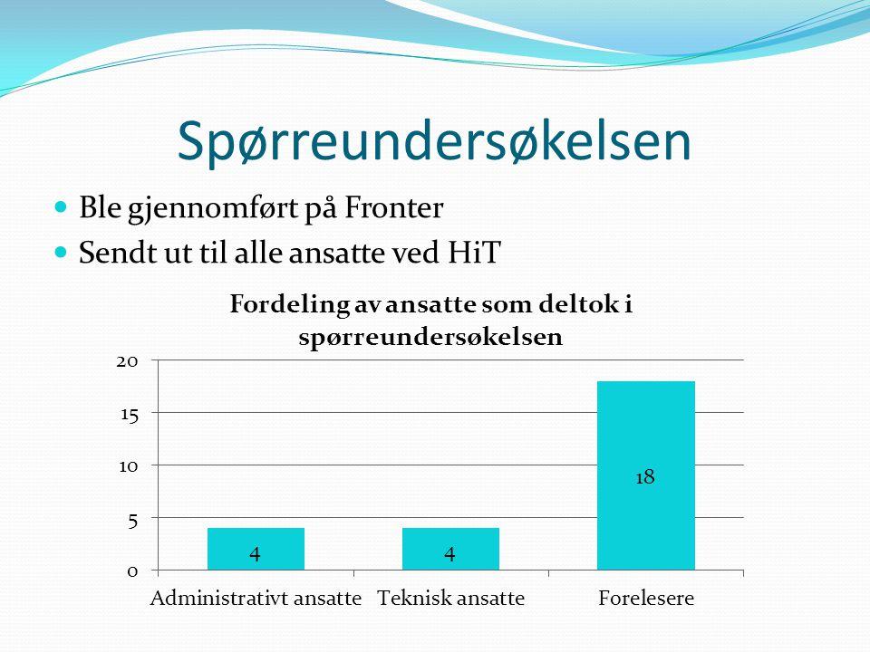 Sammenlikning av HiT og andre skolers websider Høgskolen i Oslo (HiO) Høgskolen i Bergen (HiB) Norges teknisk- naturvitenskapelige universitet (NTNU)