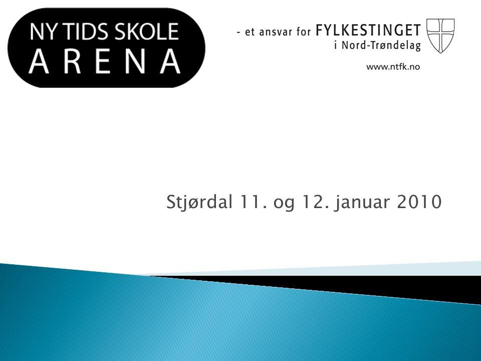 Stjørdal 11. og 12. januar 2010
