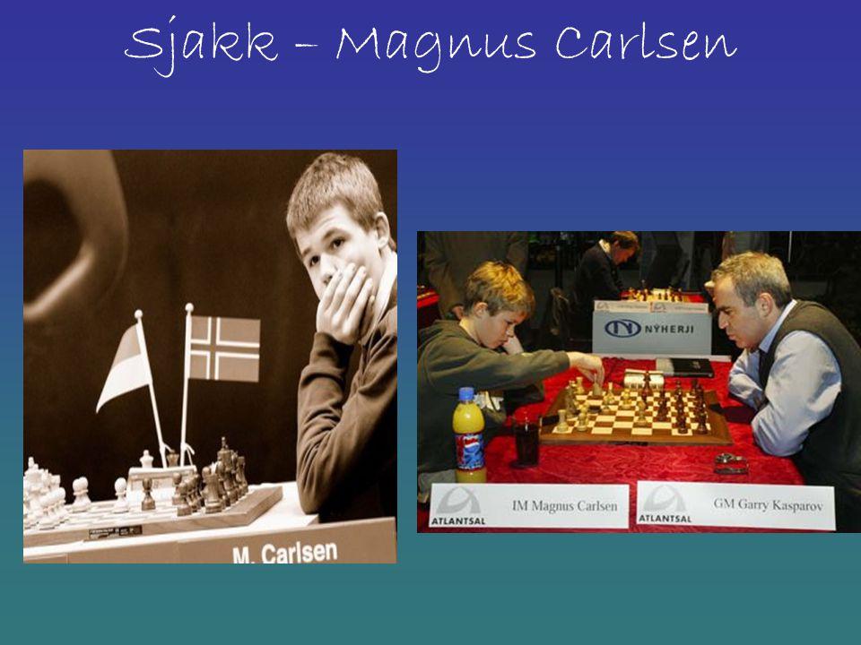 Sjakk – Magnus Carlsen