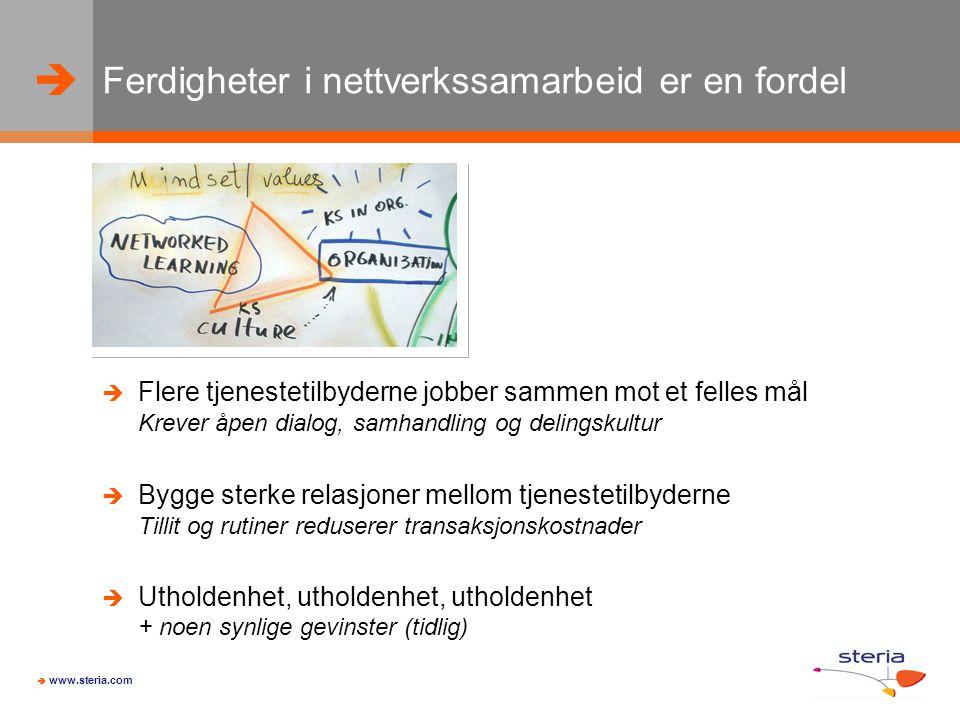   www.steria.com Hvis du vil lage innovative skolebygg… …forvent endringsmotstand