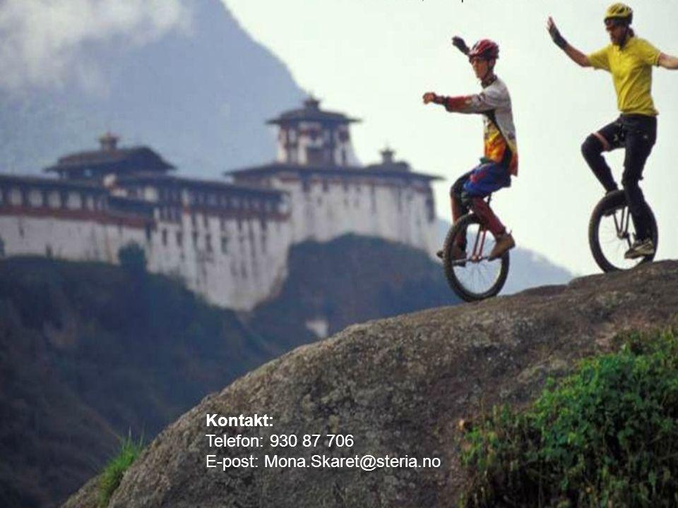   www.steria.com Kontakt: Telefon: 930 87 706 E-post: Mona.Skaret@steria.no
