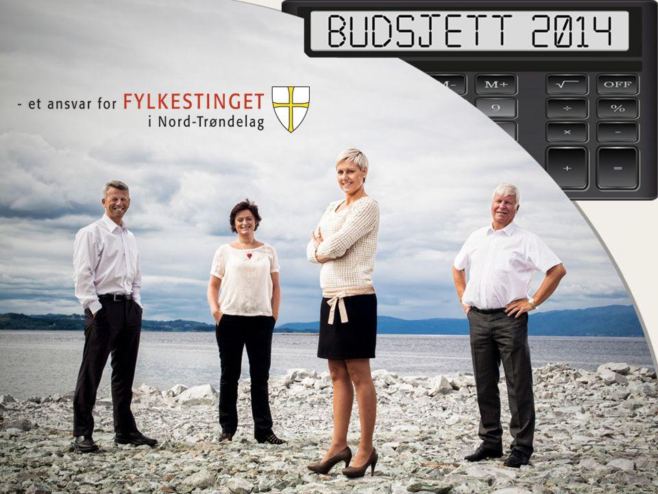 Nord-Trøndelag fylkeskommunes ansvar og eierskap forvalter 3,1 milliarder kroner og har 1.702 ansatte eier Nord-Trøndelag Elektrisitetsverk (NTE), tar årlig ut 150 mill.++ driver 11 videregående skoler, 4 fagskoler og 21 tannklinikker (7 av dem er ambuleringsklinikker) ansvar for 3000 km med fylkesveger, drifter 6 fergesamband, 2 hurtigbåttilbud og et omfattende kollektivtilbud over hele fylket den viktigste aktøren i fylket når det kommer til regional utvikling gjennom støtteordninger og prosjekter sørger for kultur til alle uansett geografi blant annet gjennom Den Kulturelle Skolesekken og Vrimmel overordnet ansvar for folkehelse
