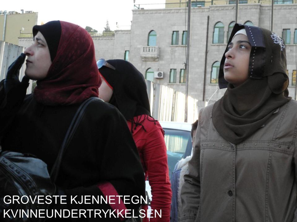 GROVESTE KJENNETEGN: KVINNEUNDERTRYKKELSEN