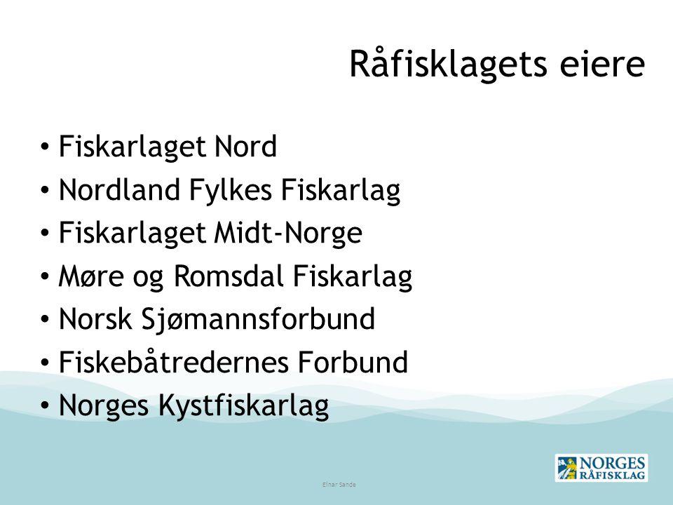 Tang og Tare TARE: Førstehåndsomsetningen gjennom salgslag – gjort gjeldende fra og med 01.01.2011 (Jfr.