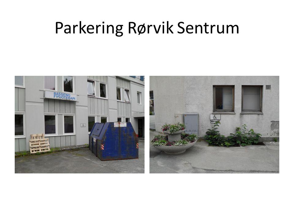 Parkering Rørvik Sentrum