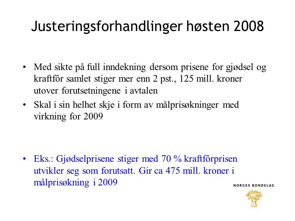 Jordbruksavtaler i faste 2008 kroner fordelt ut på antall årsverk.