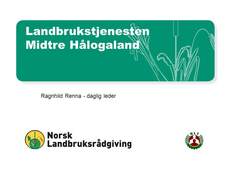 Landbrukstjenesten Midtre Hålogaland Ragnhild Renna - daglig leder
