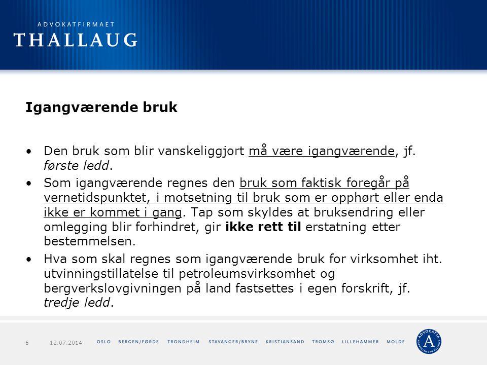 Forts.verneforskriften – Langsua NP Forts pkt 1.3: g) bygging av enkle gapahuker.