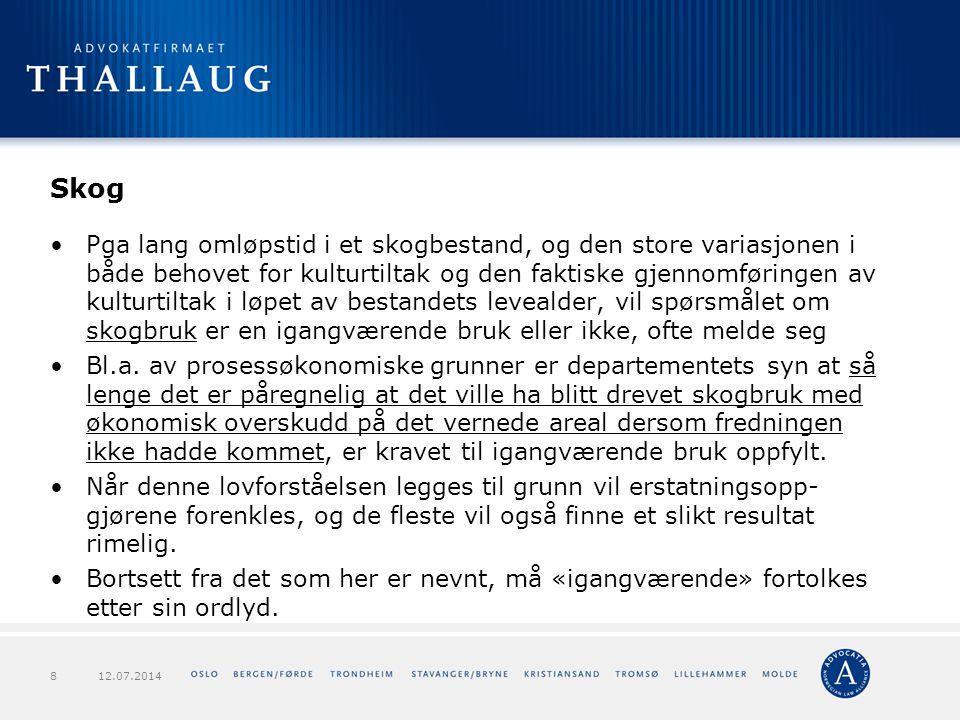 Forts.verneforskriften – Røssjøen NRV § 7.