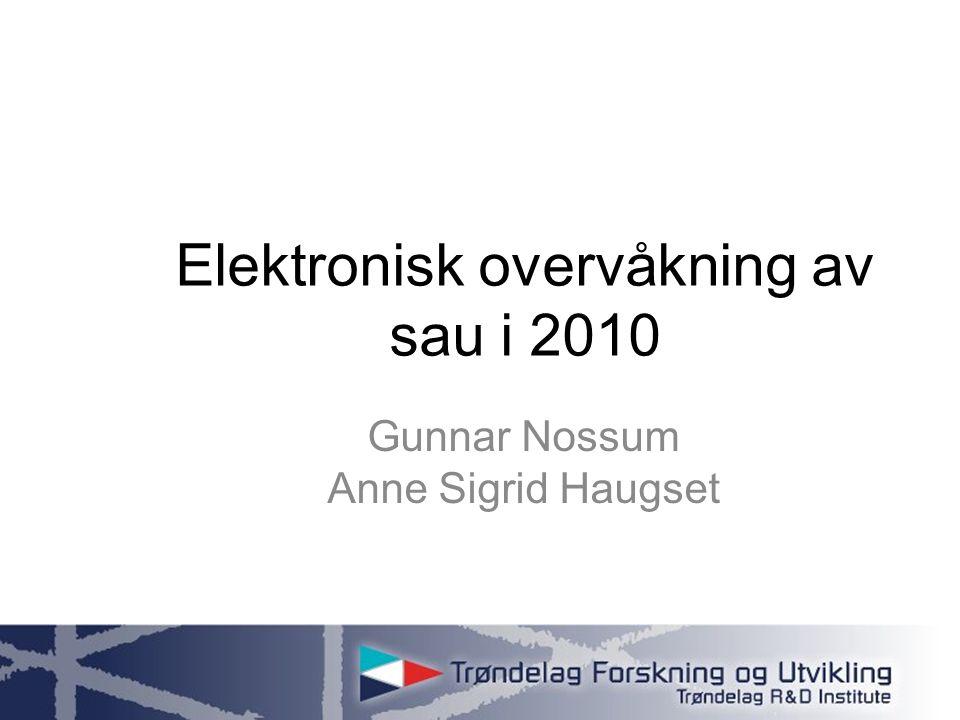 www.tfou.no Verran 2009: (Tabellen under er hentet fra notat 2009:18)