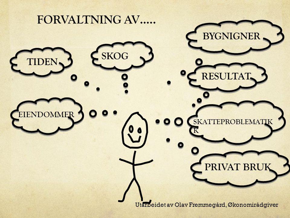FORVALTNING AV…..
