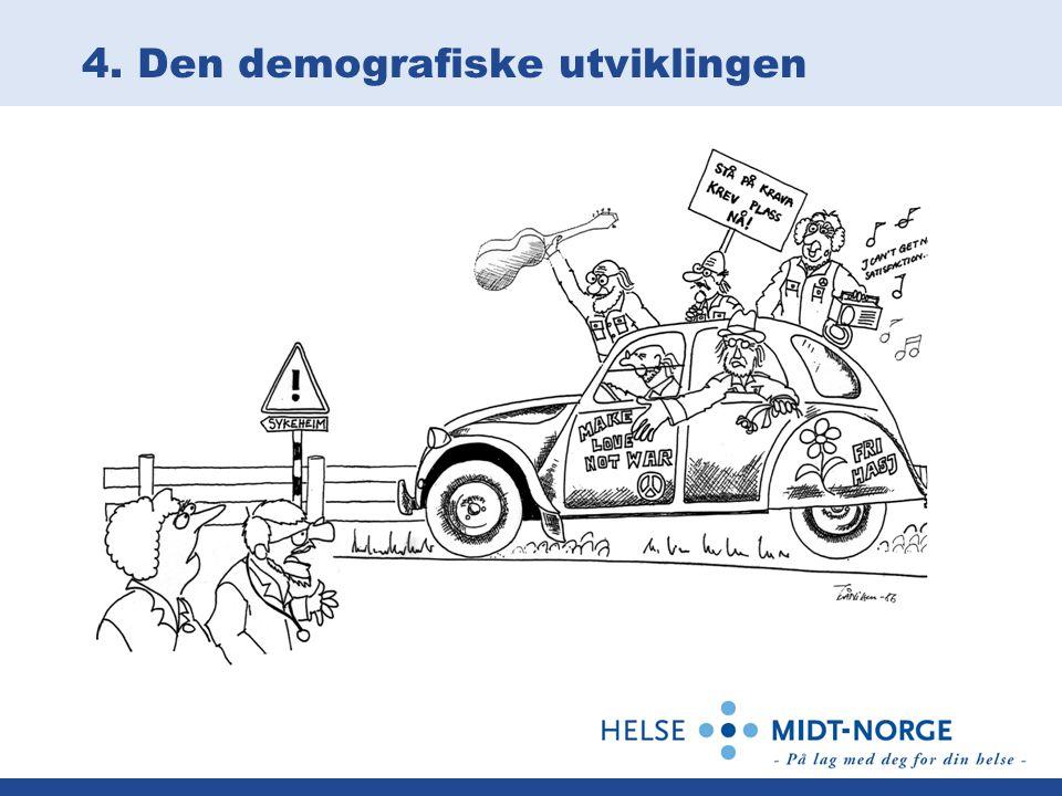 4. Den demografiske utviklingen