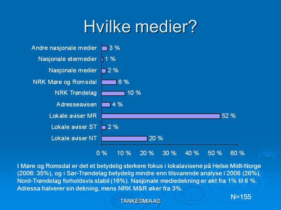 TANKESMIA AS Hvordan svarer Helse Midt-Norge på negative omdømme saker.