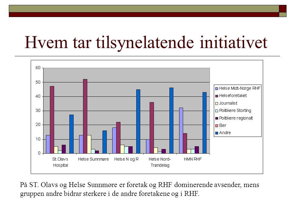 Kvalitet St.Olavs Hospital HF og Helse Nord-Trøndelag klarer å kommunisere kvalitet uvanlig godt.