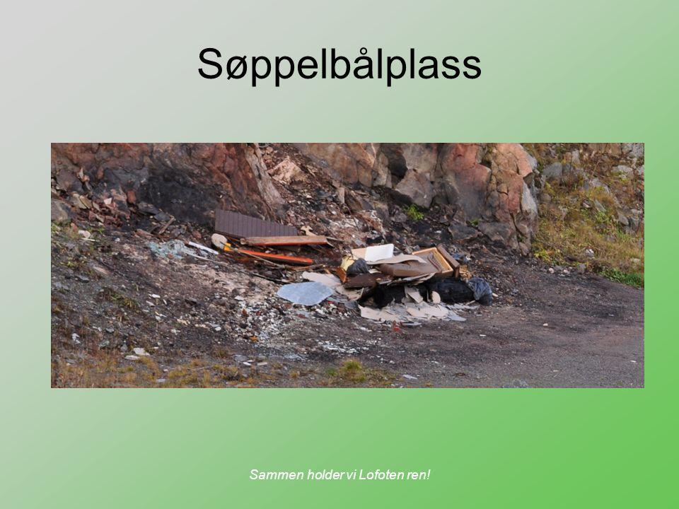 Sammen holder vi Lofoten ren! Søppelbålplass