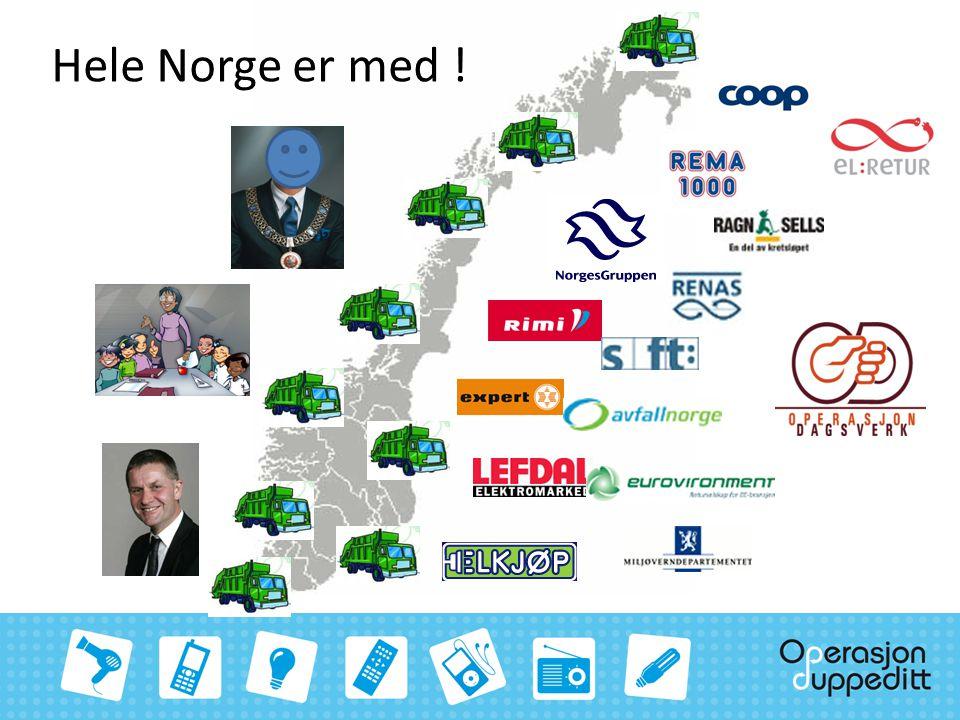 Hele Norge er med !