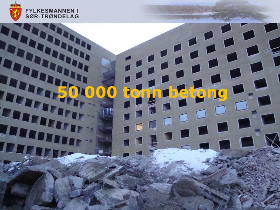 50 000 tonn betong