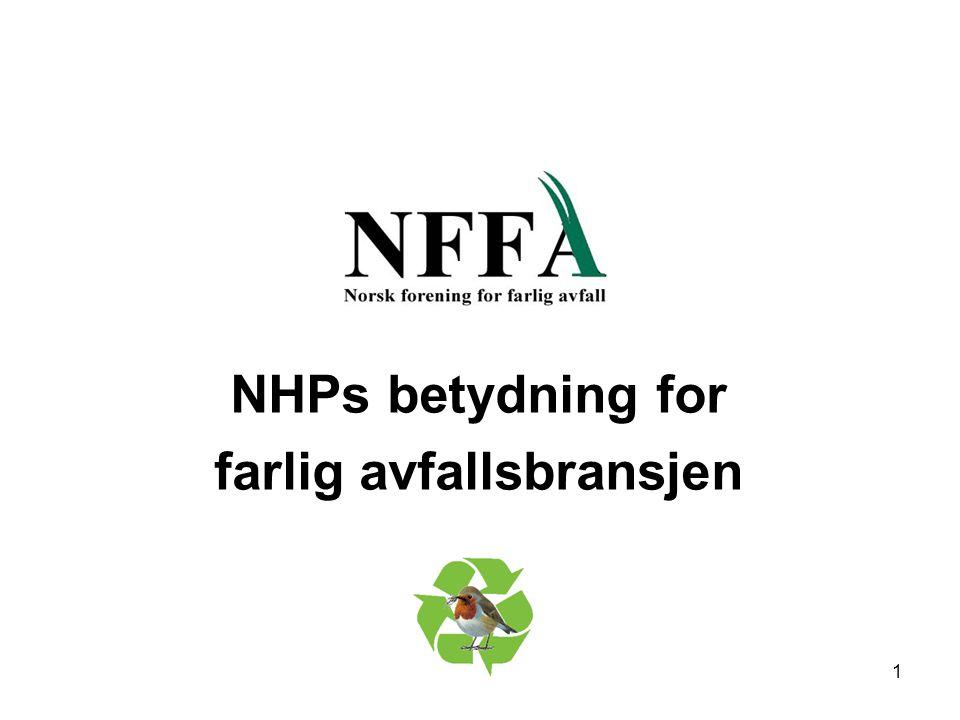 NHPs betydning for farlig avfallsbransjen 1