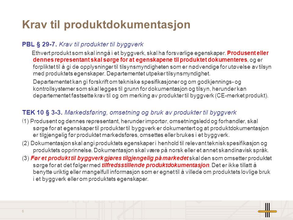 7 Krav til avfallshåndtering PBL § 29-8.
