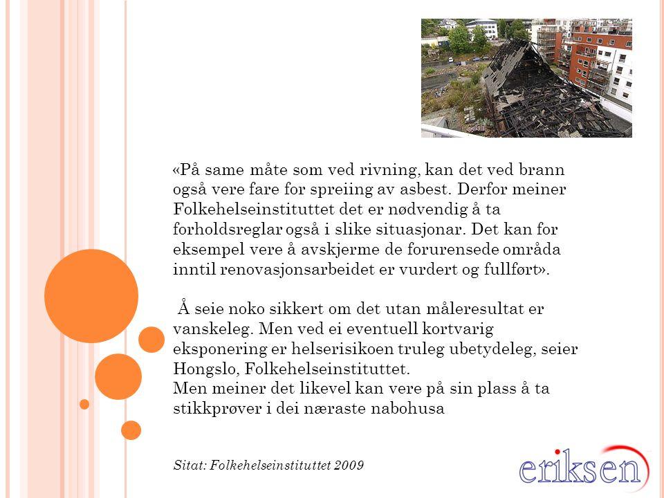 Foretas det risikovurderinger ….PÅSTAND: Det er mye fokus på avfall, ikke helserisiko..